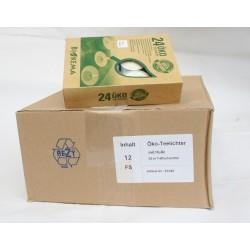 12 er Karton Bioteelichter